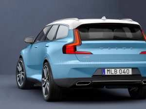 35 The Volvo New V40 2020 Concept