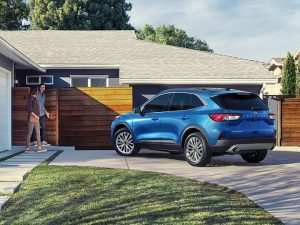 36 All New 2020 Ford Escape Spy Shoot