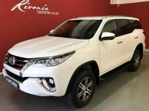 36 All New Fortuner Toyota 2019 Interior