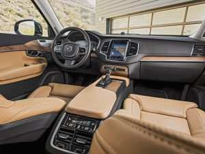 36 All New Volvo Xc90 2019 Interior Spy Shoot