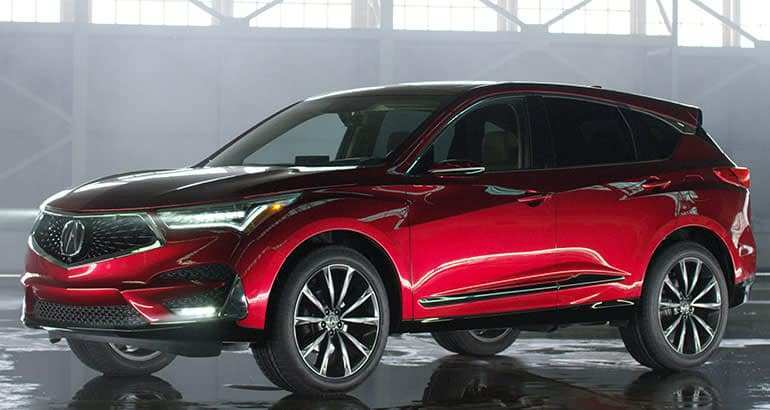 36 New 2019 Acura Rdx Prototype Redesign And Review