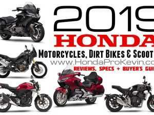 36 The Honda Bikes 2019 Photos