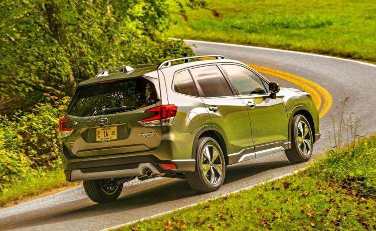37 A Subaru Forester 2019 Ground Clearance History