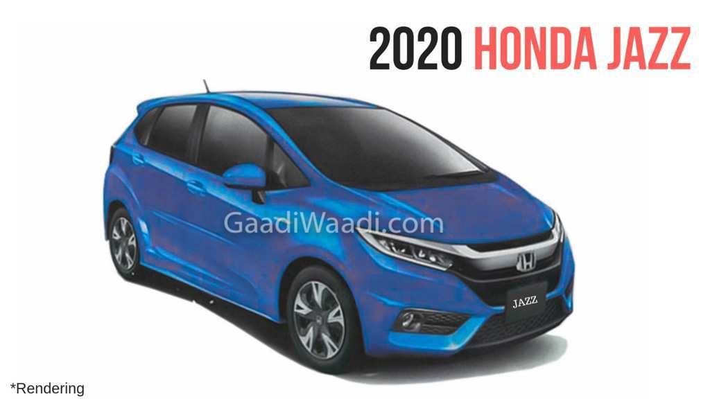37 New 2020 Honda Fit News Performance And New Engine