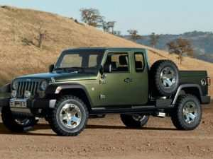 37 New Jeep Commander Truck 2020 Picture