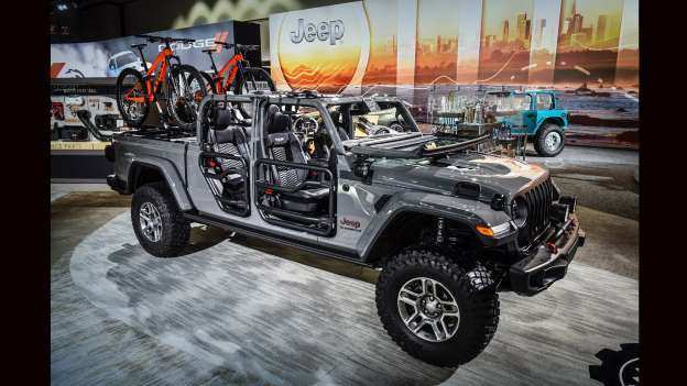 37 The Best 2020 Jeep Gladiator Mopar Accessories Concept And Review