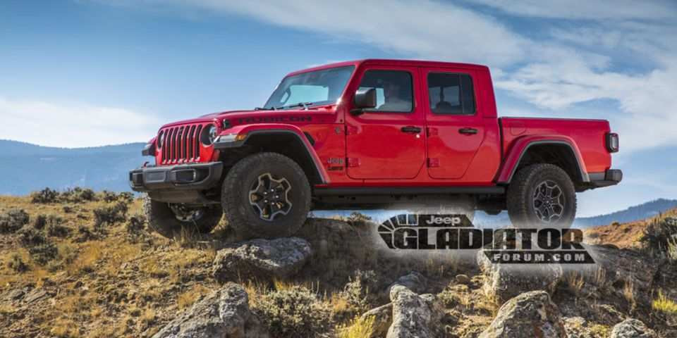 37 The Jeep Pickup 2020 Specs Spy Shoot