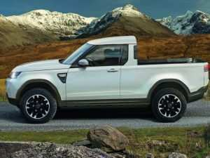 38 A 2019 Land Rover Defender Ute Spy Shoot