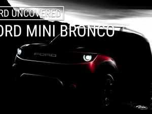 38 All New 2019 Mini Bronco Concept and Review