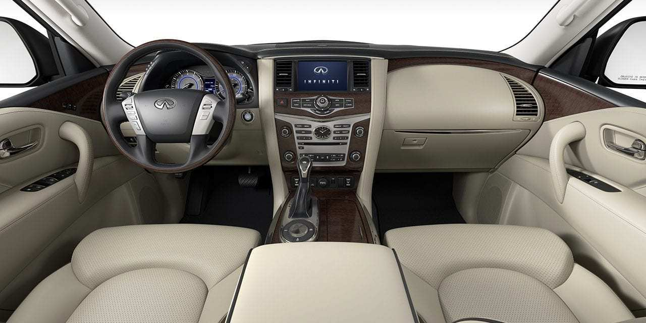 38 All New Infiniti Qx80 2020 Interior Price And Release Date