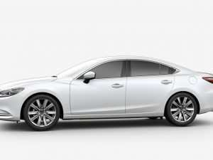 38 All New Mazda 6 2019 White Model
