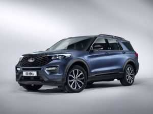 2020 Ford Explorer Design