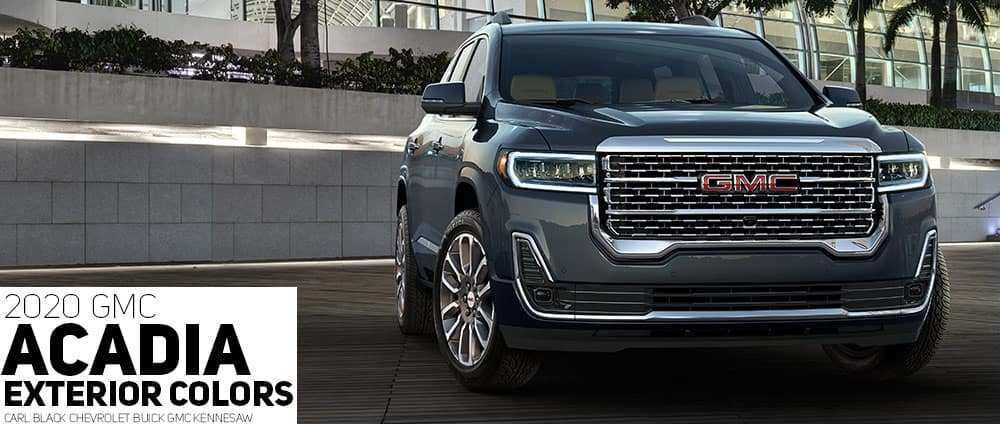 38 New 2020 Gmc Acadia Vs Chevy Traverse Photos