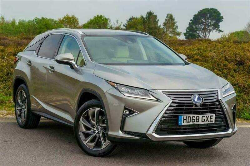 38 The 2019 Lexus Rx L Picture