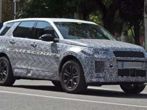 38 The 2020 Land Rover Discovery Sport Images