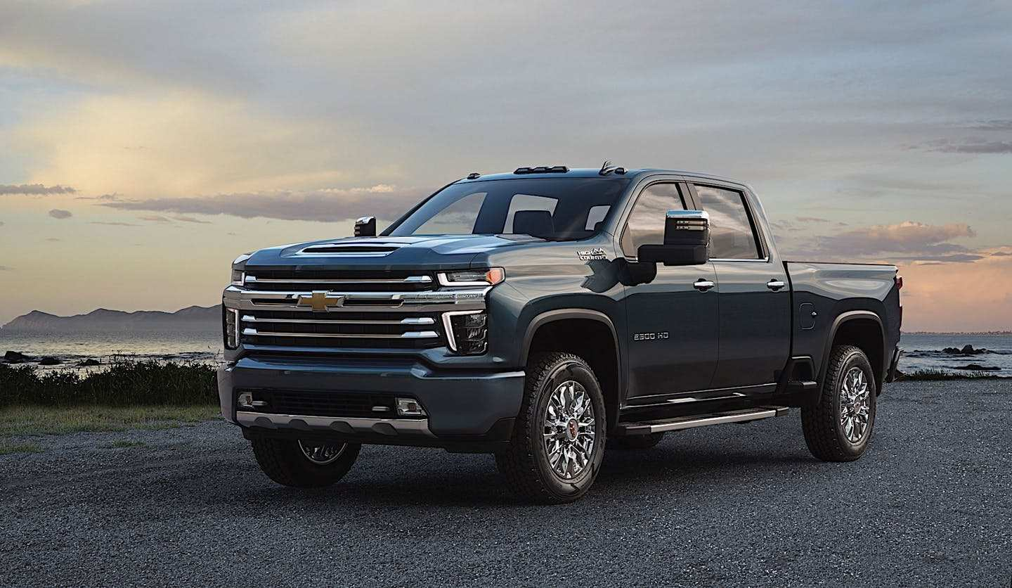 38 The Best 2020 Chevrolet Silverado Hd Teased Pictures