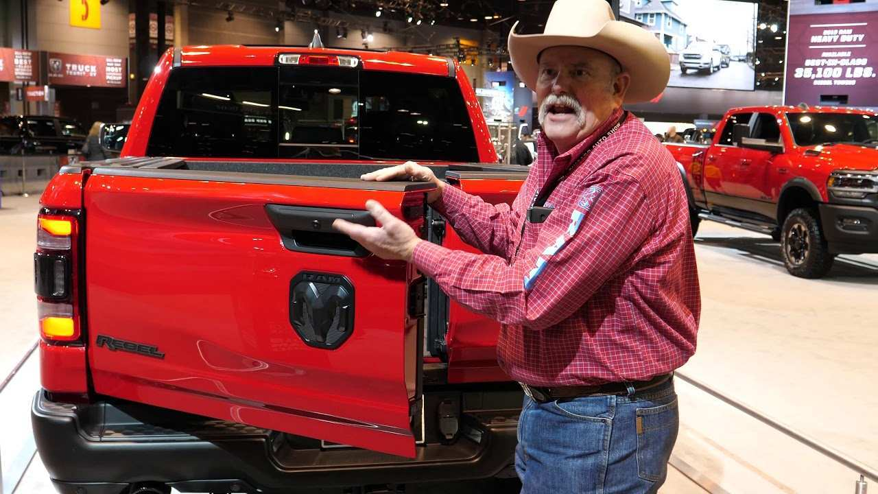 39 A 2020 Dodge Ram Picture