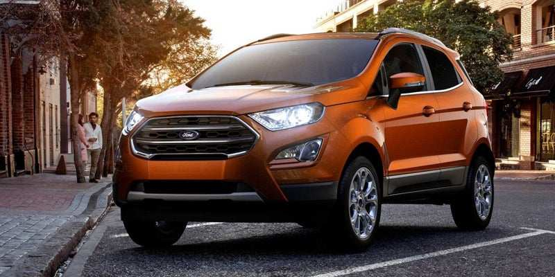 39 All New 2019 Ford Ecosport Style