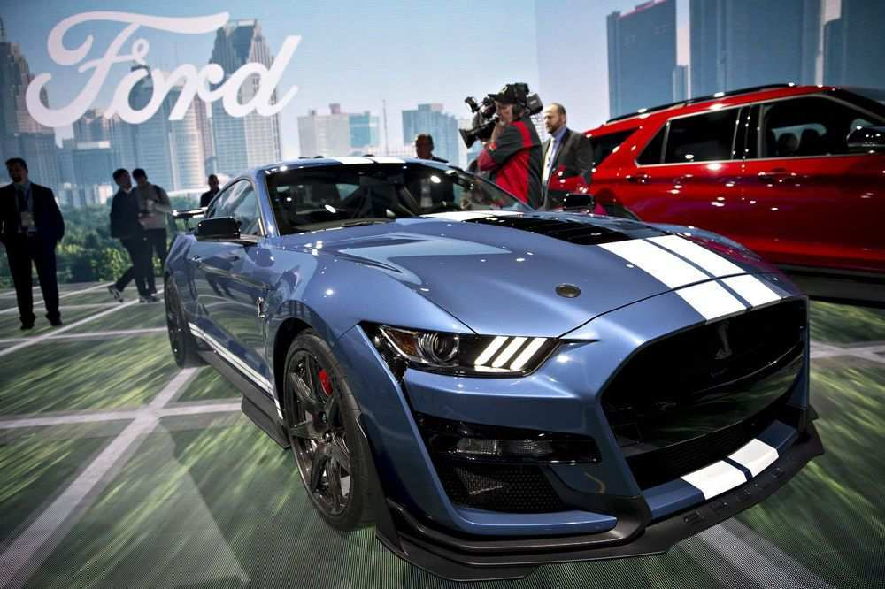 39 All New Ford Debuts 2020 Shelby Gt500 Concept