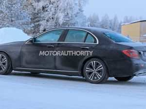 39 All New Mercedes E Class Facelift 2019 Pictures