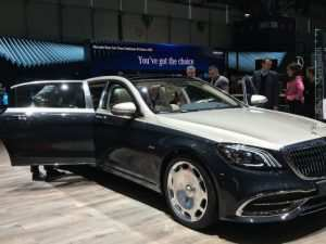 39 The 2019 Mercedes Maybach S650 Spesification