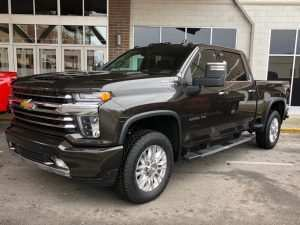 39 The 2020 Chevrolet Silverado 2500Hd High Country New Model and Performance