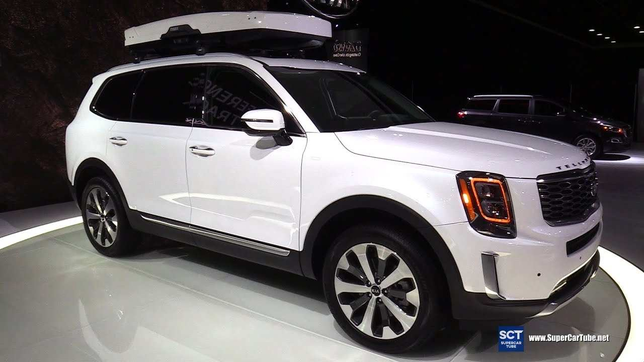 39 The 2020 Kia Telluride White Research New