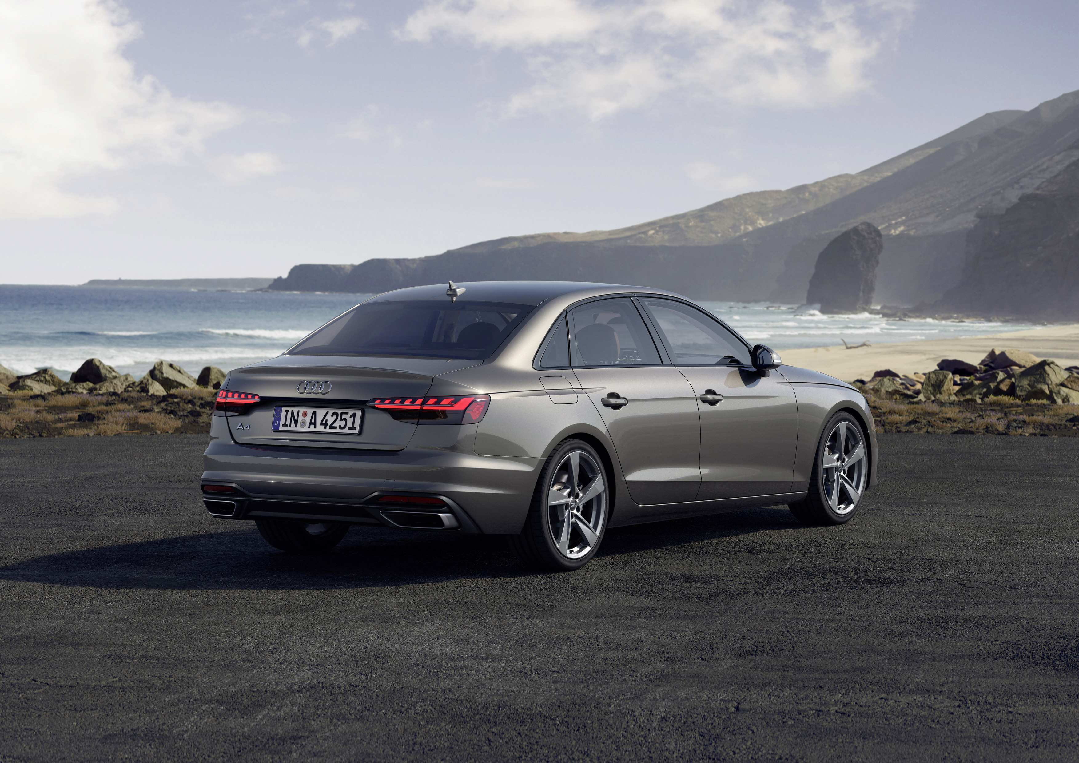 39 The Audi A4 Model Year 2020 Spy Shoot