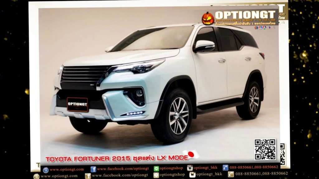 40 A Toyota Fortuner Facelift 2020 India Redesign and Concept