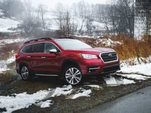 40 All New 2019 Subaru Ascent 0 60 Redesign and Review