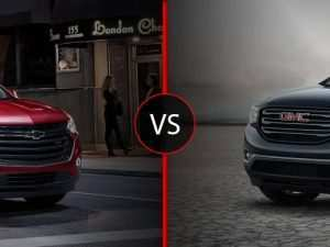 40 New 2020 Gmc Acadia Vs Chevy Traverse Images