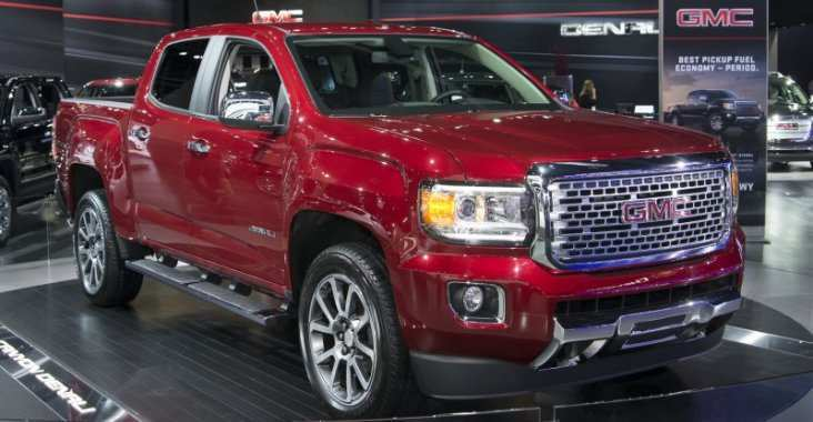 40 New Gmc Canyon 2020 Concept And Review