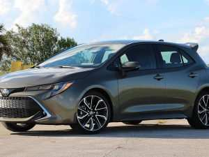 40 The Best 2019 Toyota Corolla Hatchback Review New Review
