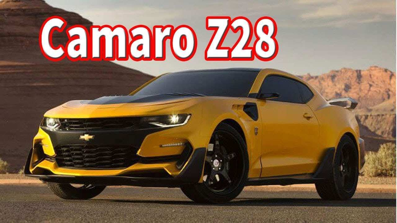 40 The Best 2020 Chevrolet Camaro Z28 Review