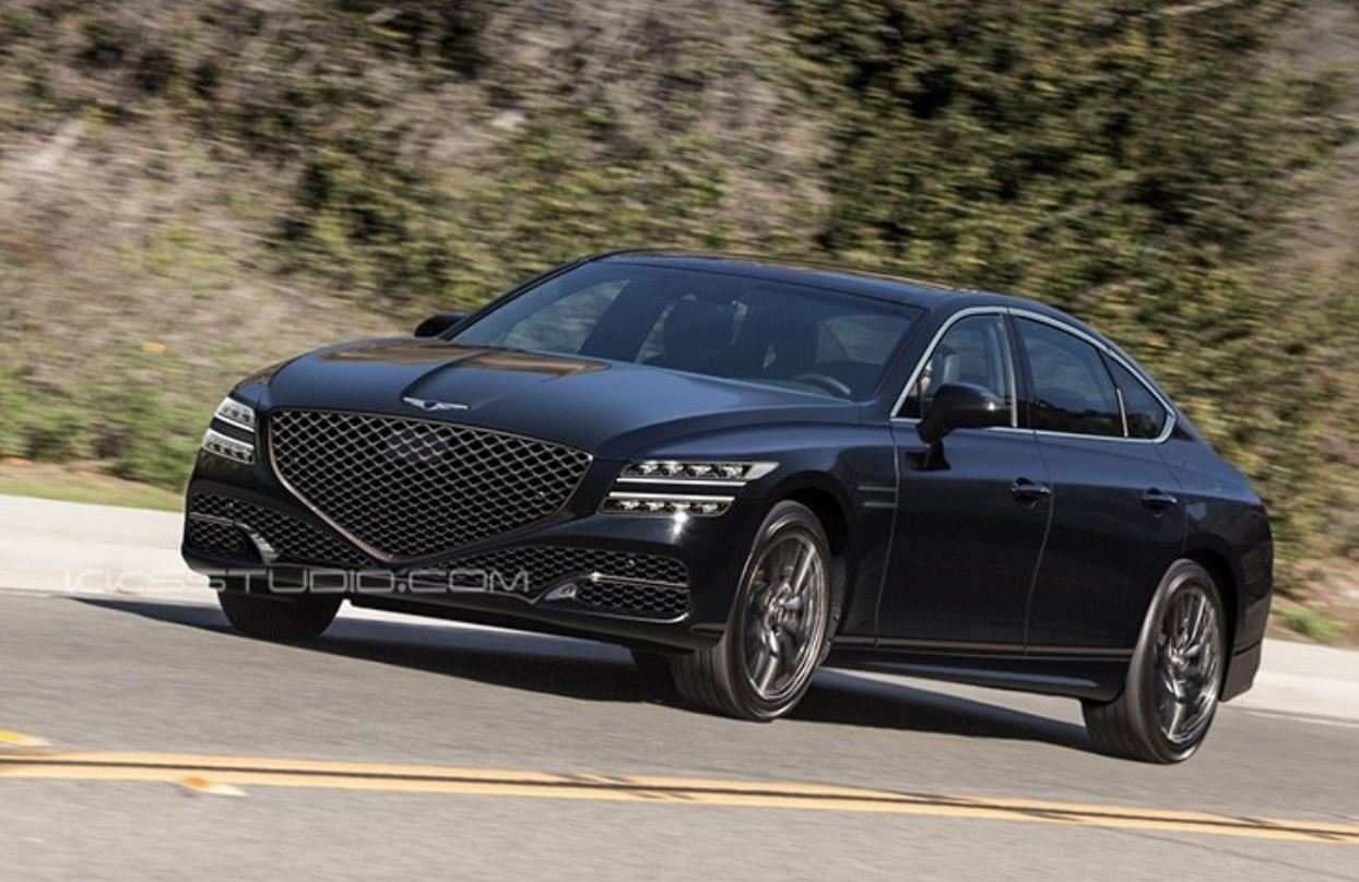 41 A Hyundai G80 2020 Performance And New Engine