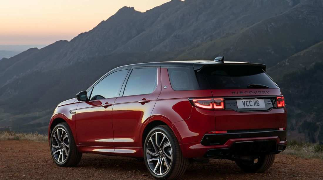 41 New 2020 Land Rover Discovery Sport Photos