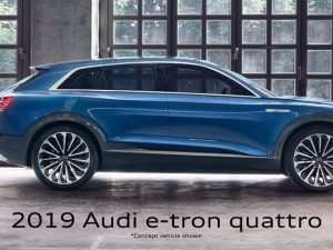 41 The 2019 Audi Electric Car Research New