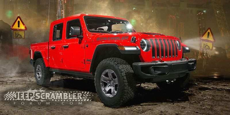 41 The 2019 Jeep Truck News Exterior And Interior