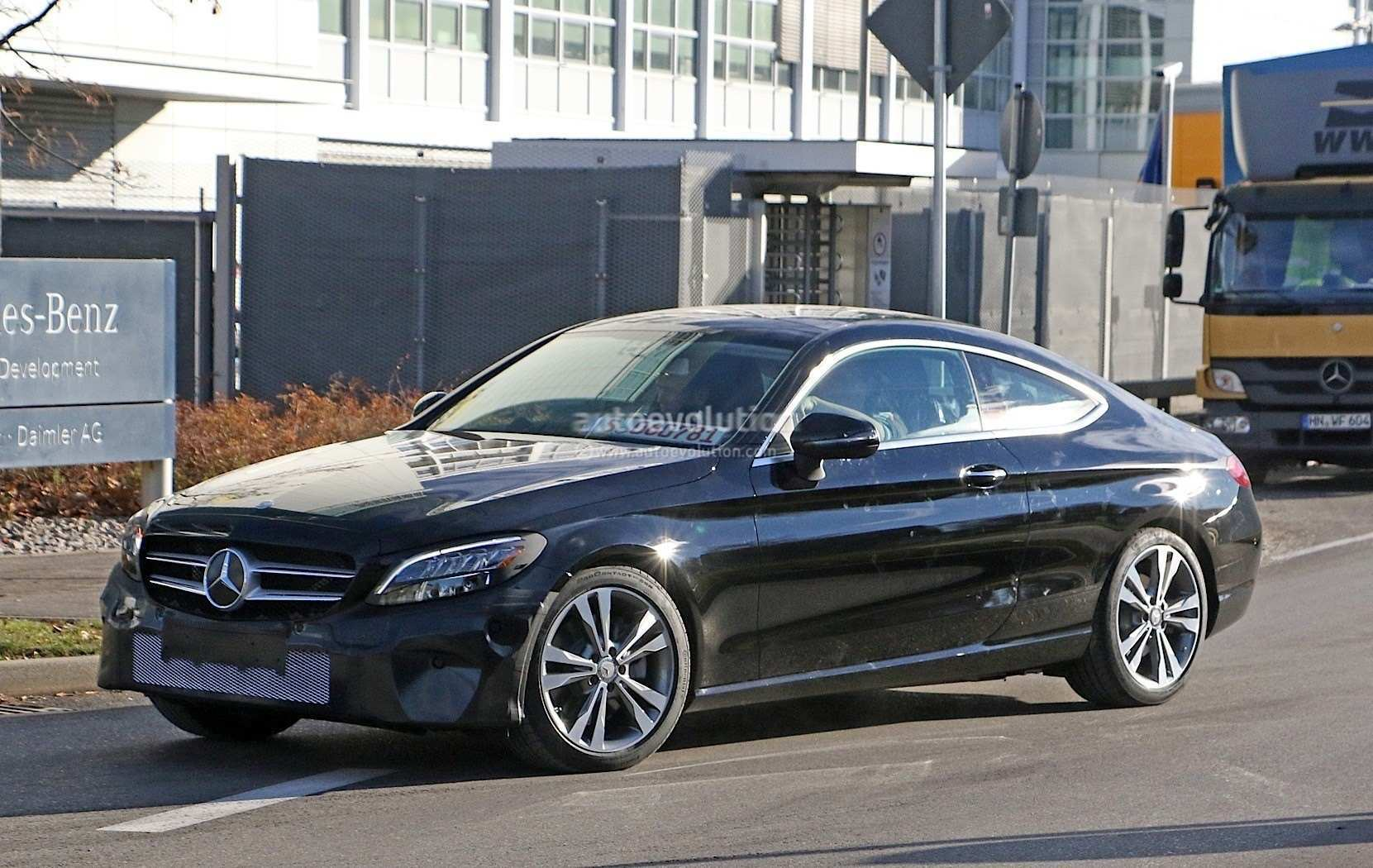 41 The Mercedes C Class Coupe 2019 Spesification
