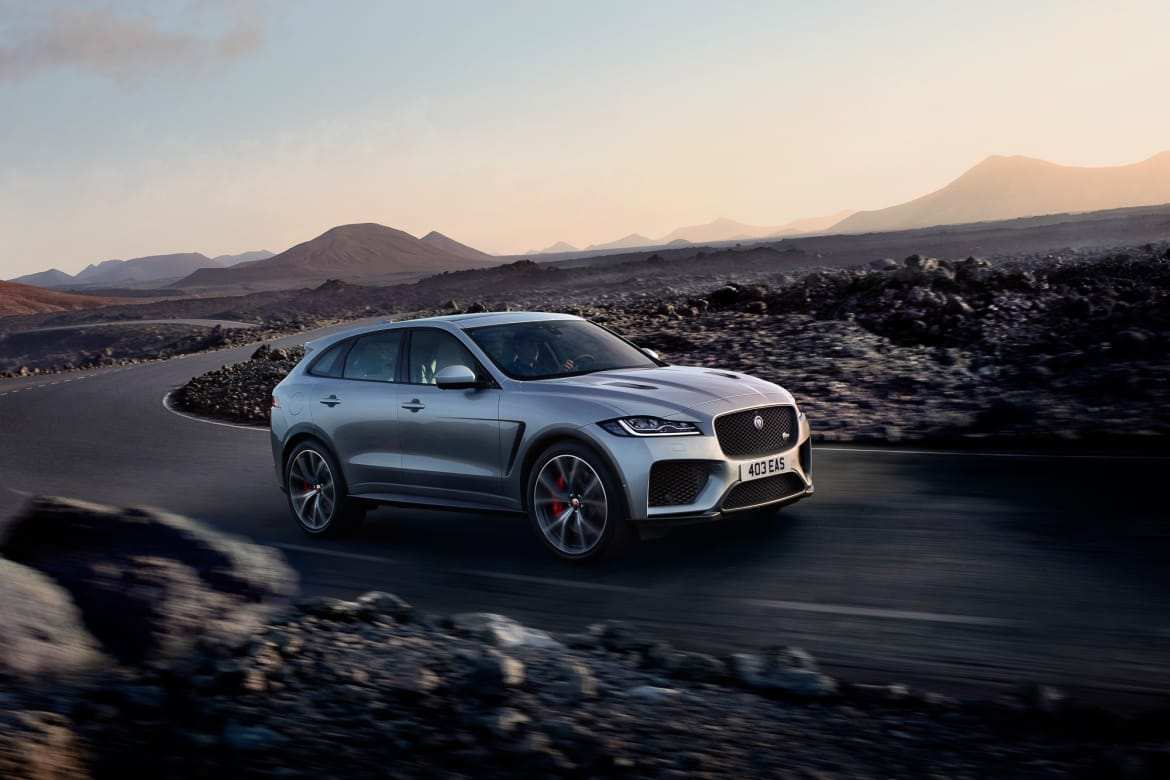 42 A 2019 Jaguar F Pace Changes Engine