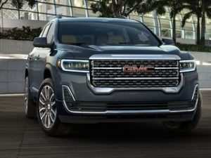 42 A 2020 Gmc Acadia Changes Style