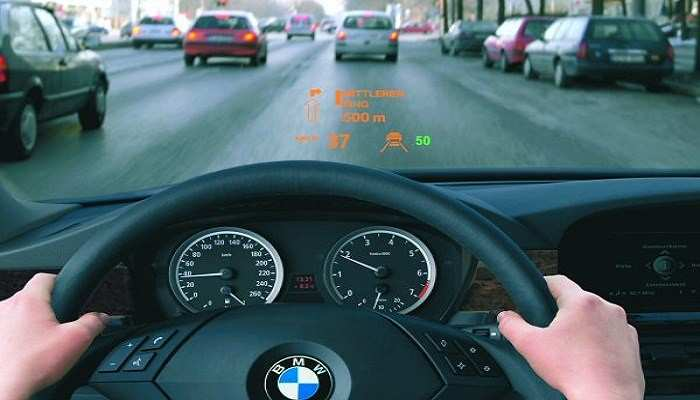 42 A BMW Head Up Display 2020 New Review