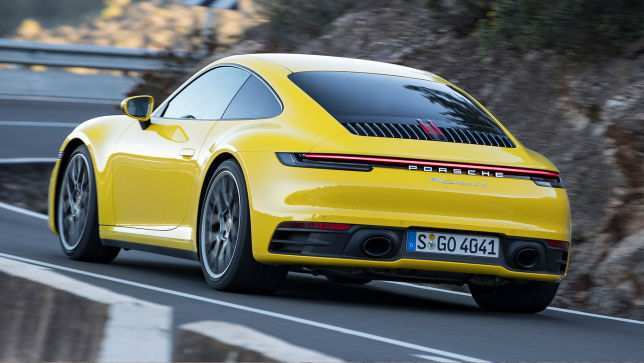 42 All New 2019 Porsche 911 4S Review And Release Date