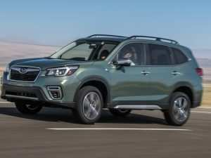 42 New Subaru Forester 2019 News Images