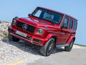 42 The Best Mercedes 2019 G Wagon Release Date and Concept