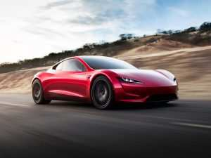 43 A 2020 Tesla Roadster Torque Exterior and Interior