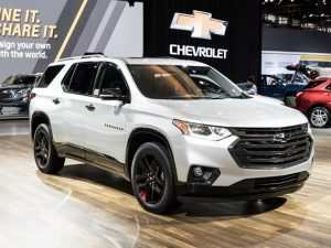 43 A Chevrolet Traverse 2020 First Drive