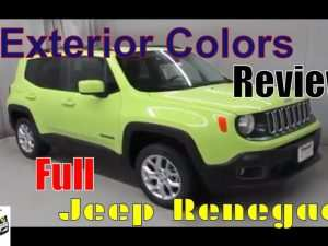 43 A Jeep Renegade 2020 Colors Spesification