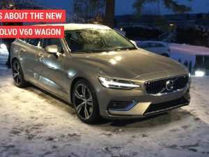 43 All New New 2019 Volvo V60 Exterior