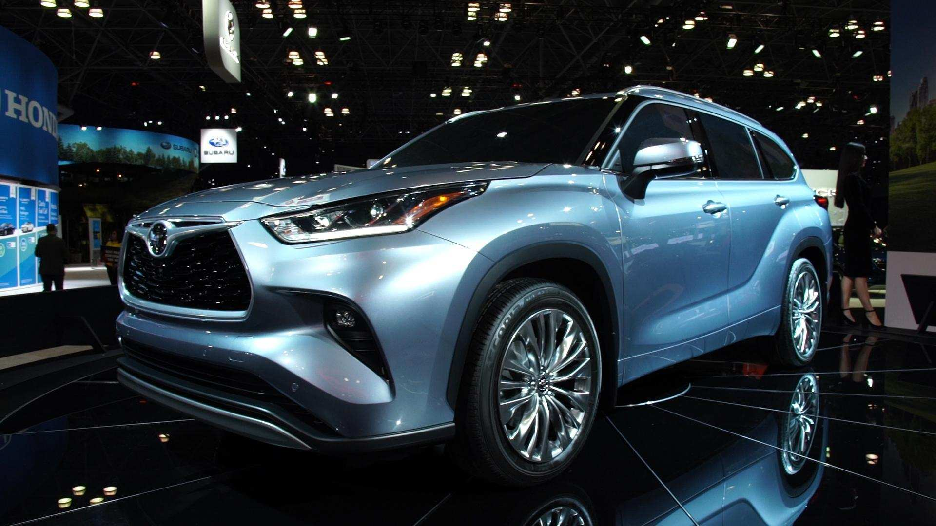 43 All New Toyota Highlander 2020 Engine